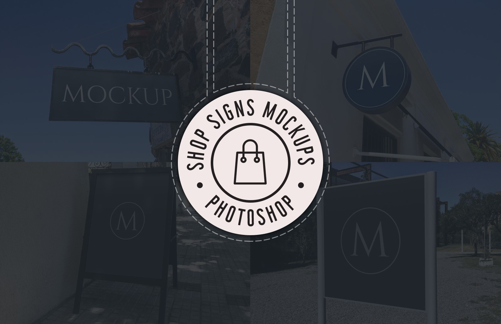 Shop Signs Mockups Preview 1