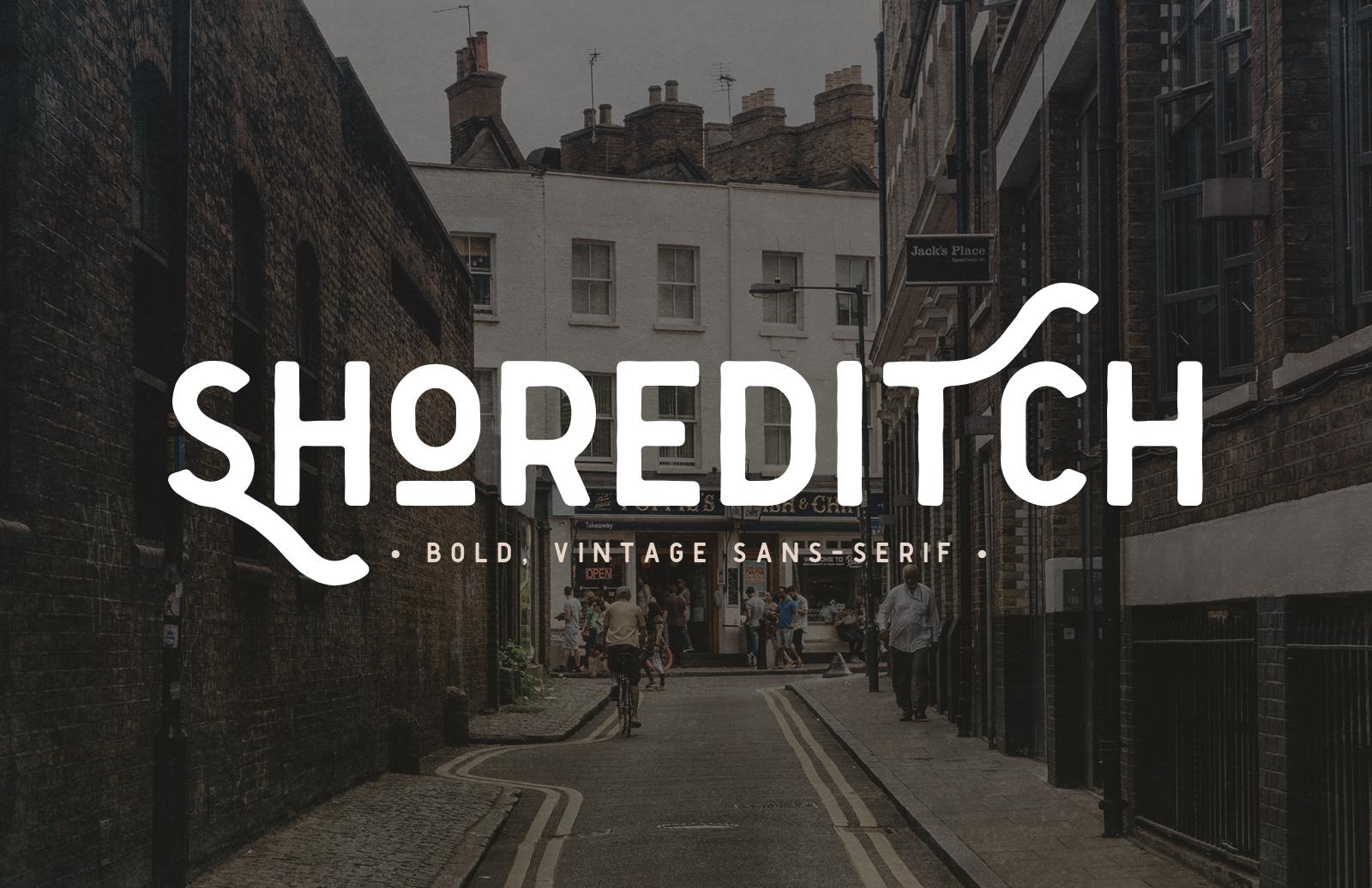 Shoreditch 2  Font  Preview 1