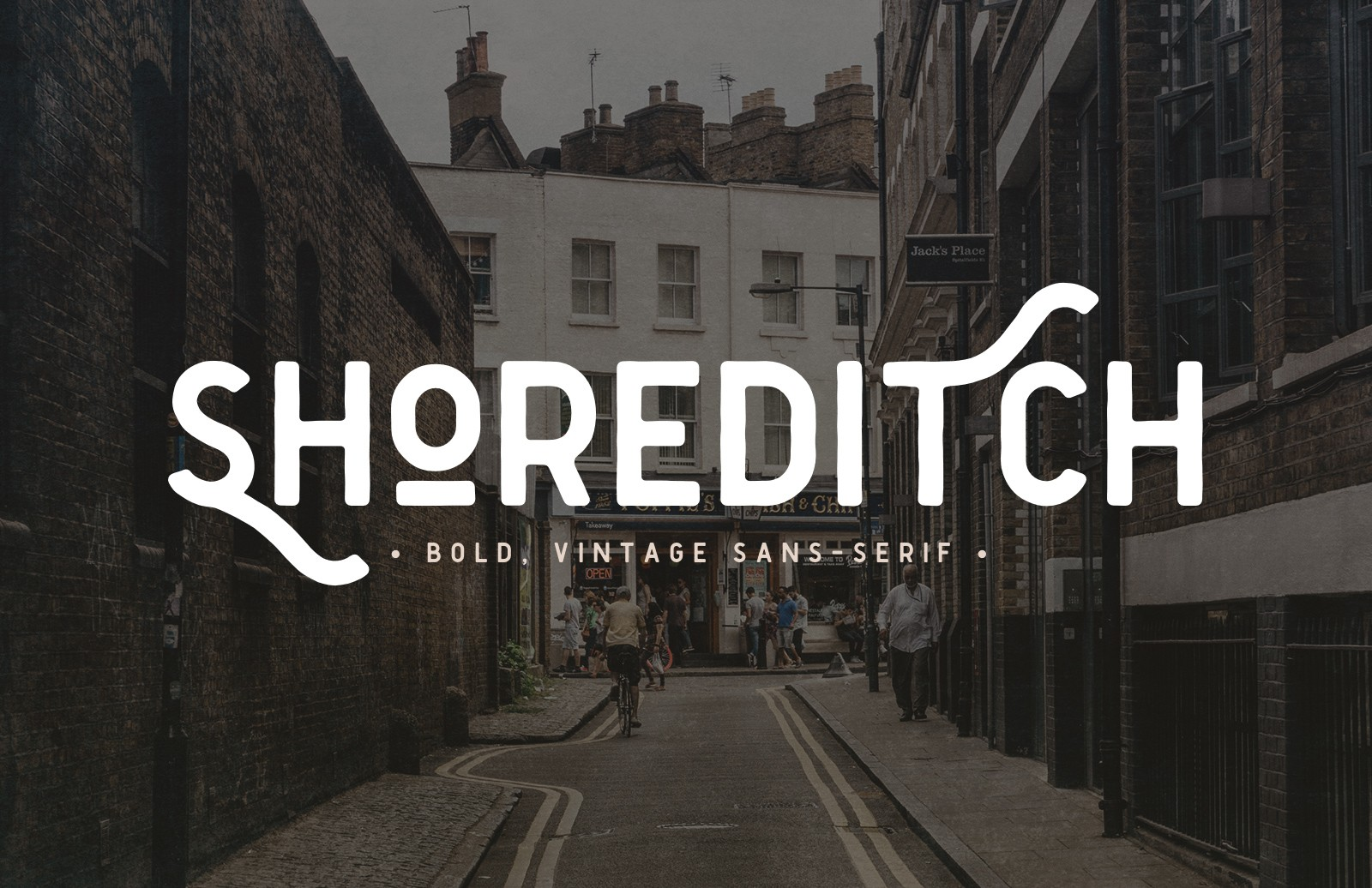 Shoreditch 2  Font  Preview 1