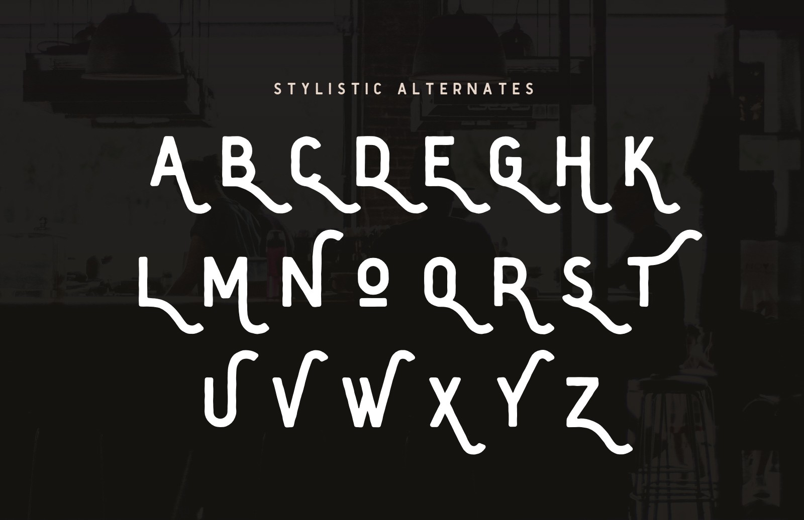 Shoreditch 2  Font  Preview 5B