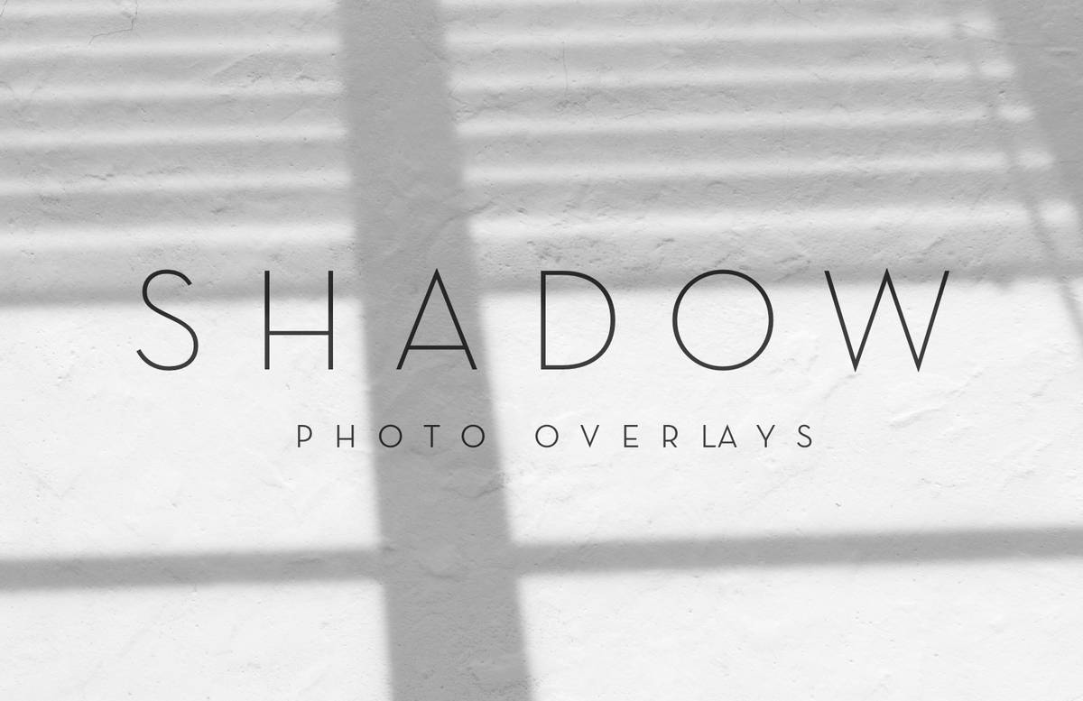 Shadow Photo Overlays 2 Preview 1C