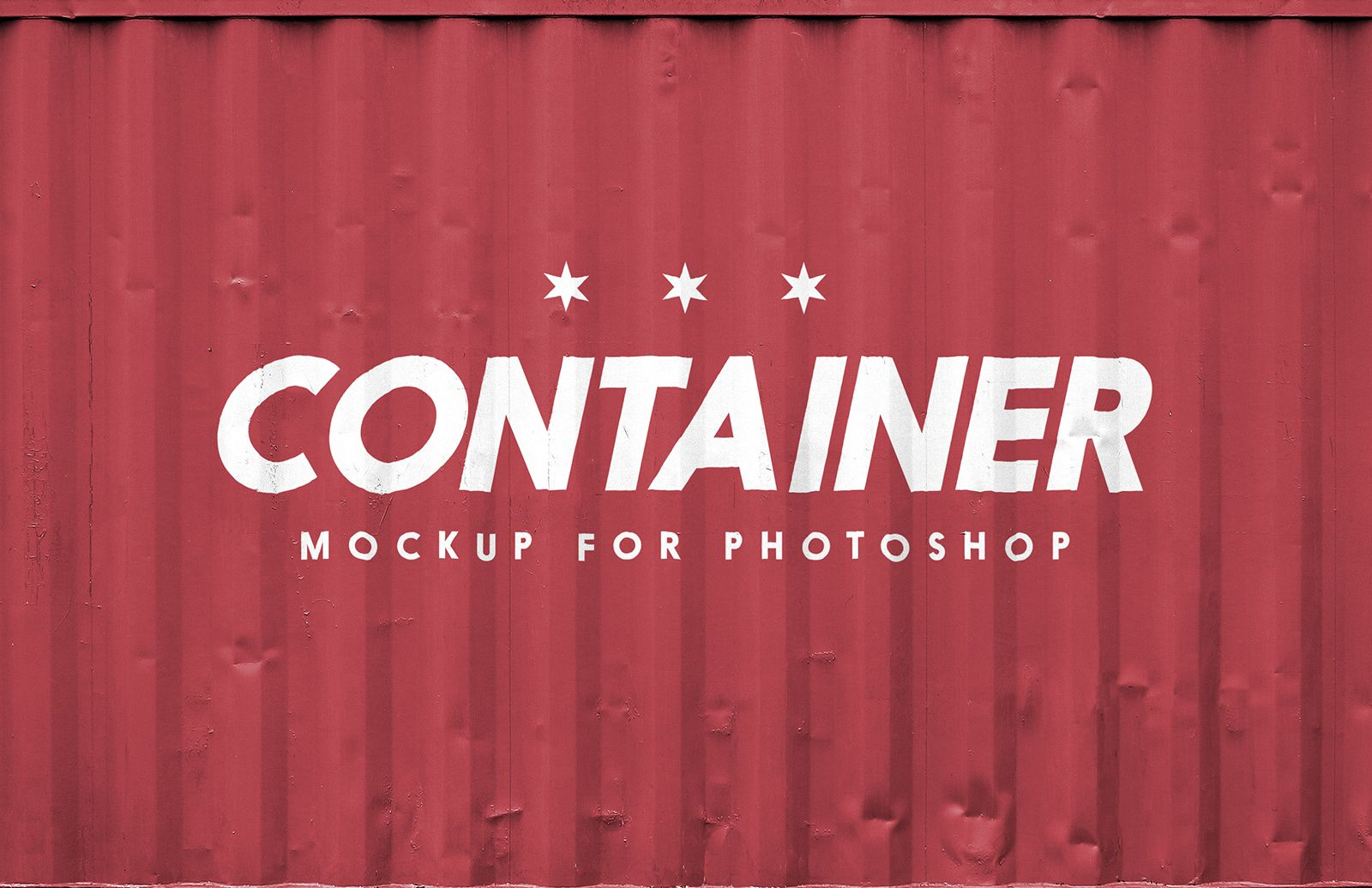 Shipping Container Logo Mockup Preview 1