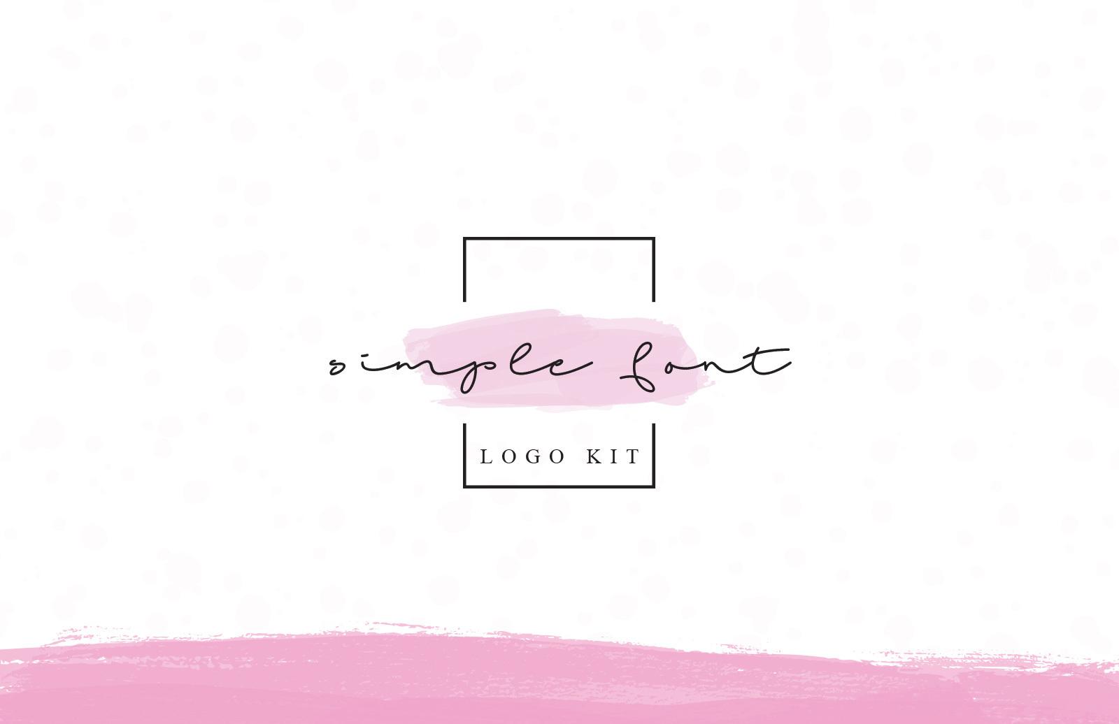 Simple Font Logo Kit
