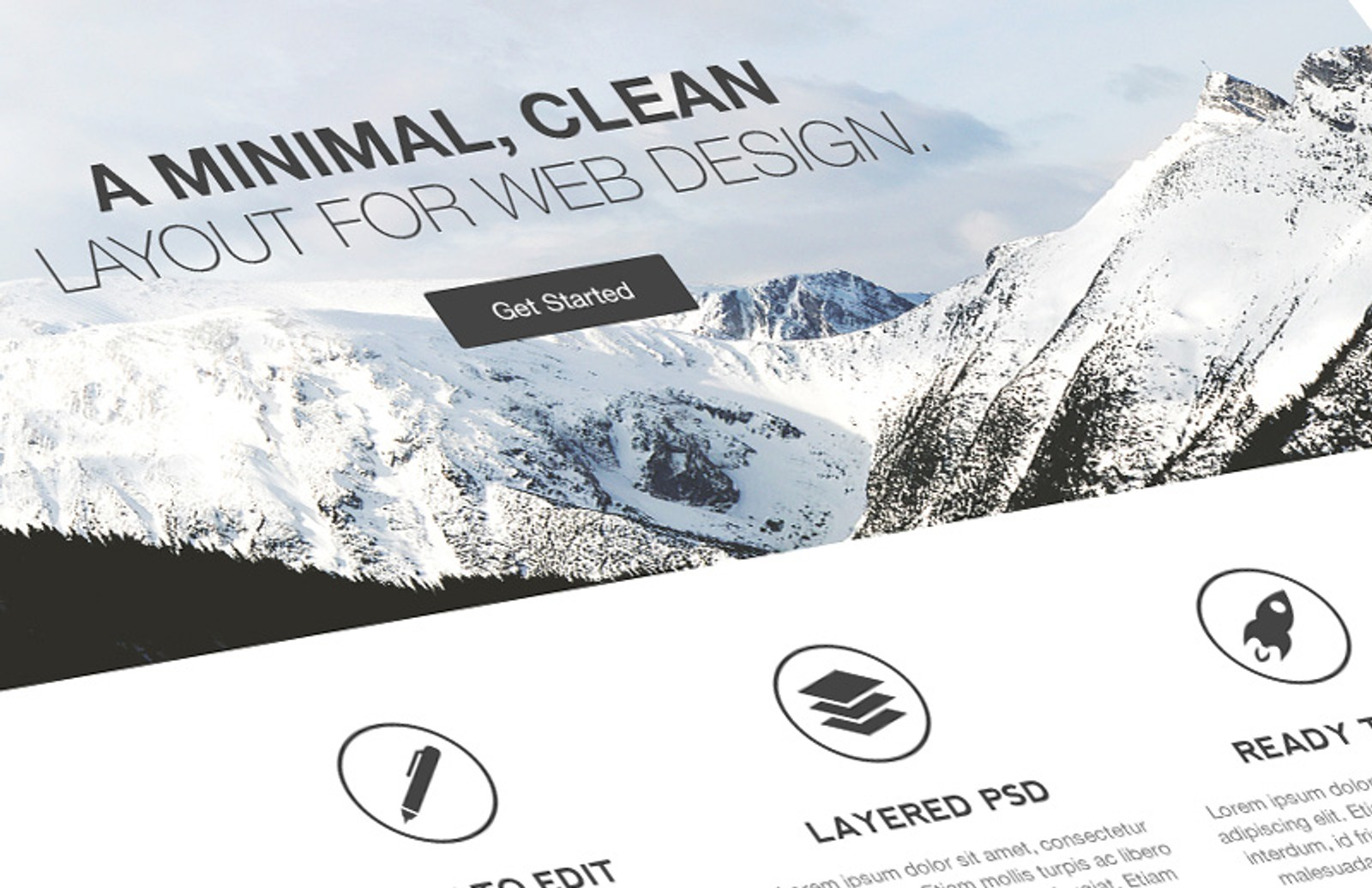 Simply  Minimal  Web  Layout  Preview 1