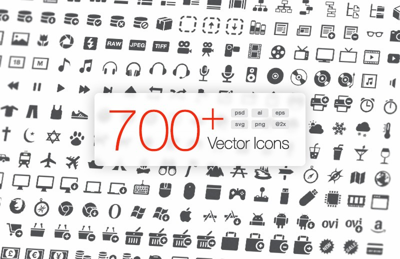 Large Signia  Vector  Icons 2  Preview 1C