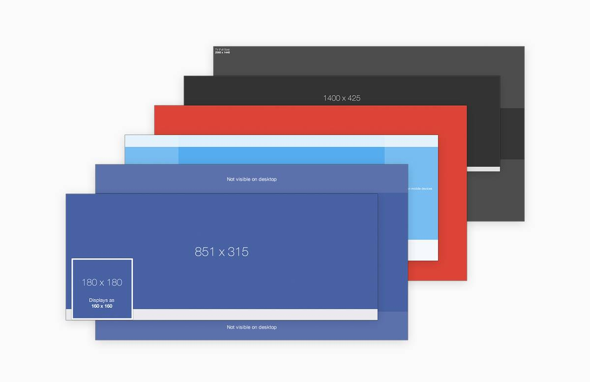 Social  Media  Cover  Templates  Pack  Preview 1B