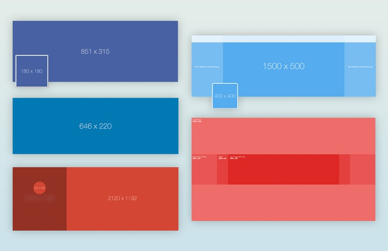 Large Social  Media  Design  Templates  Pack  Preview 6A