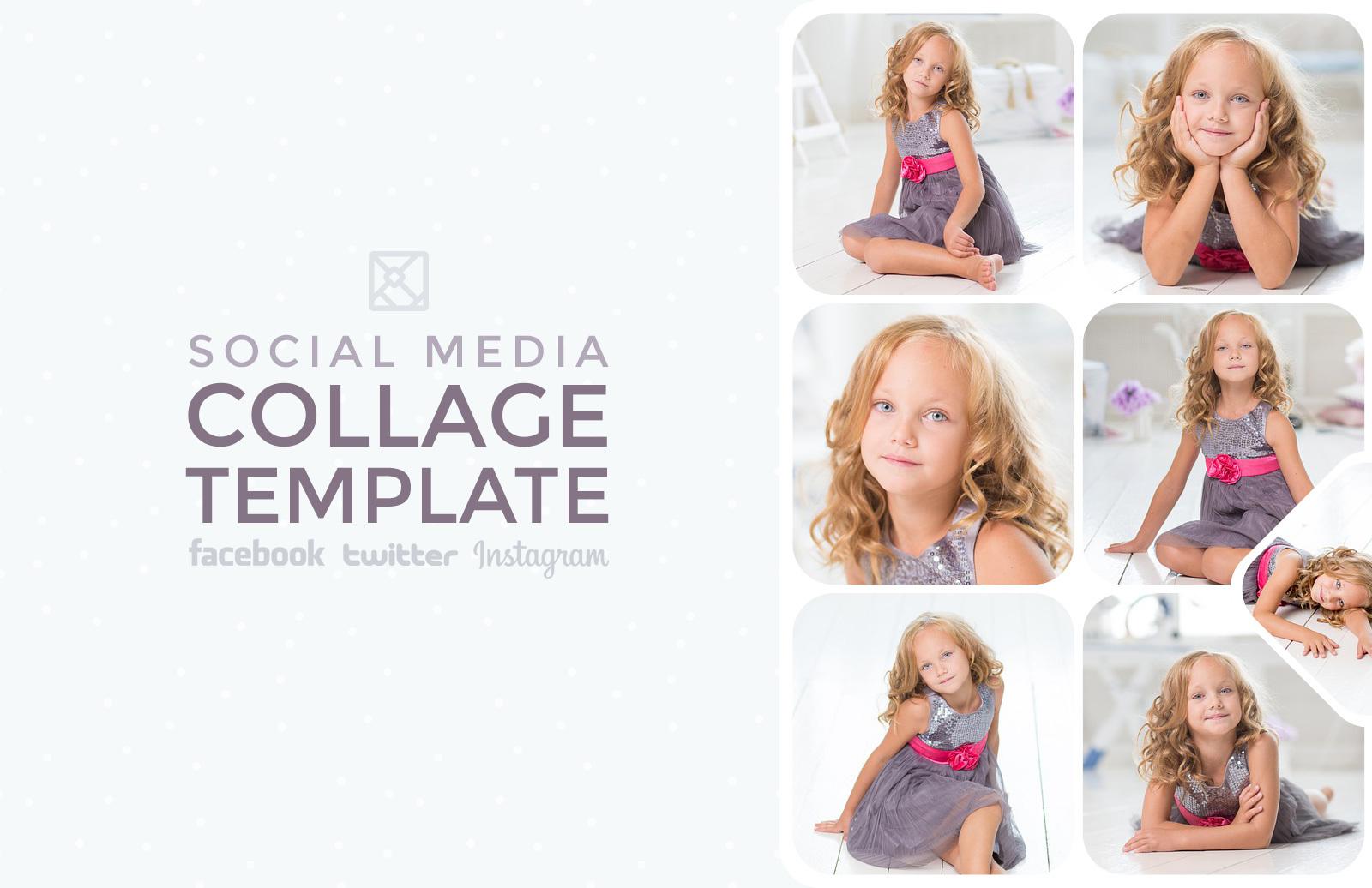 Social Media Photo Collage Templates