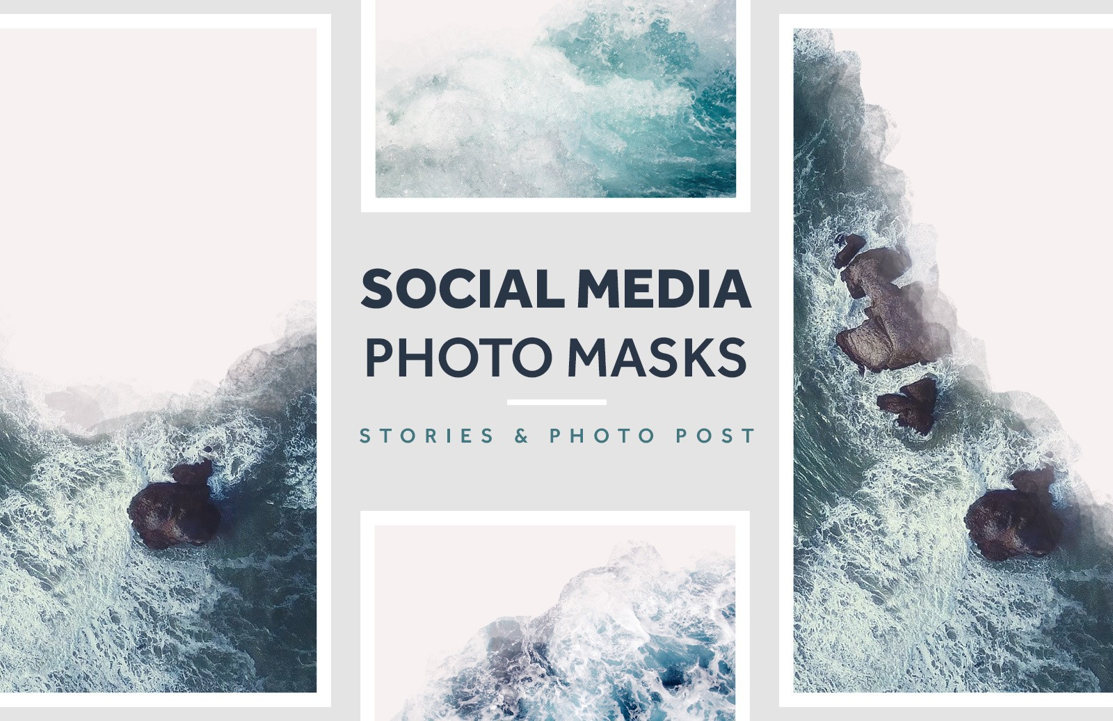 Social Media Photo Masks Preview 1