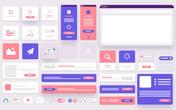 Soft 3D Elements UI Kit