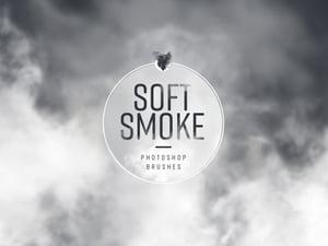 Soft Smoke Photoshop Brushes 1