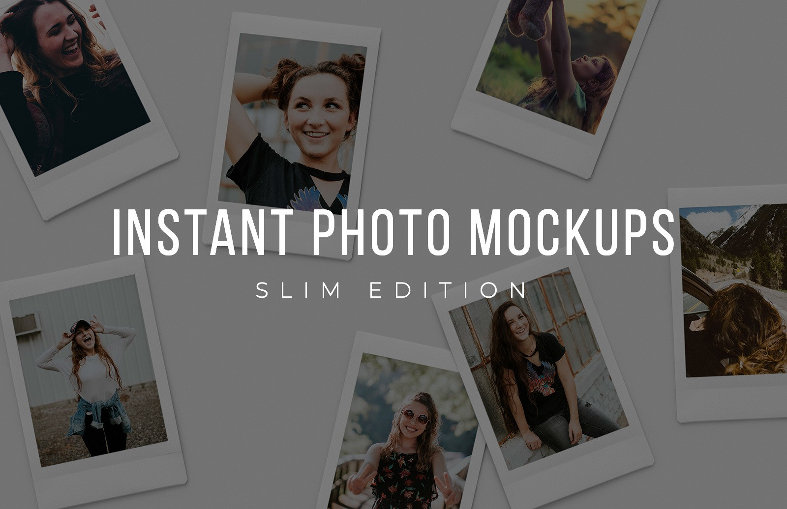 Slim Instant Photo Mockups Preview 1
