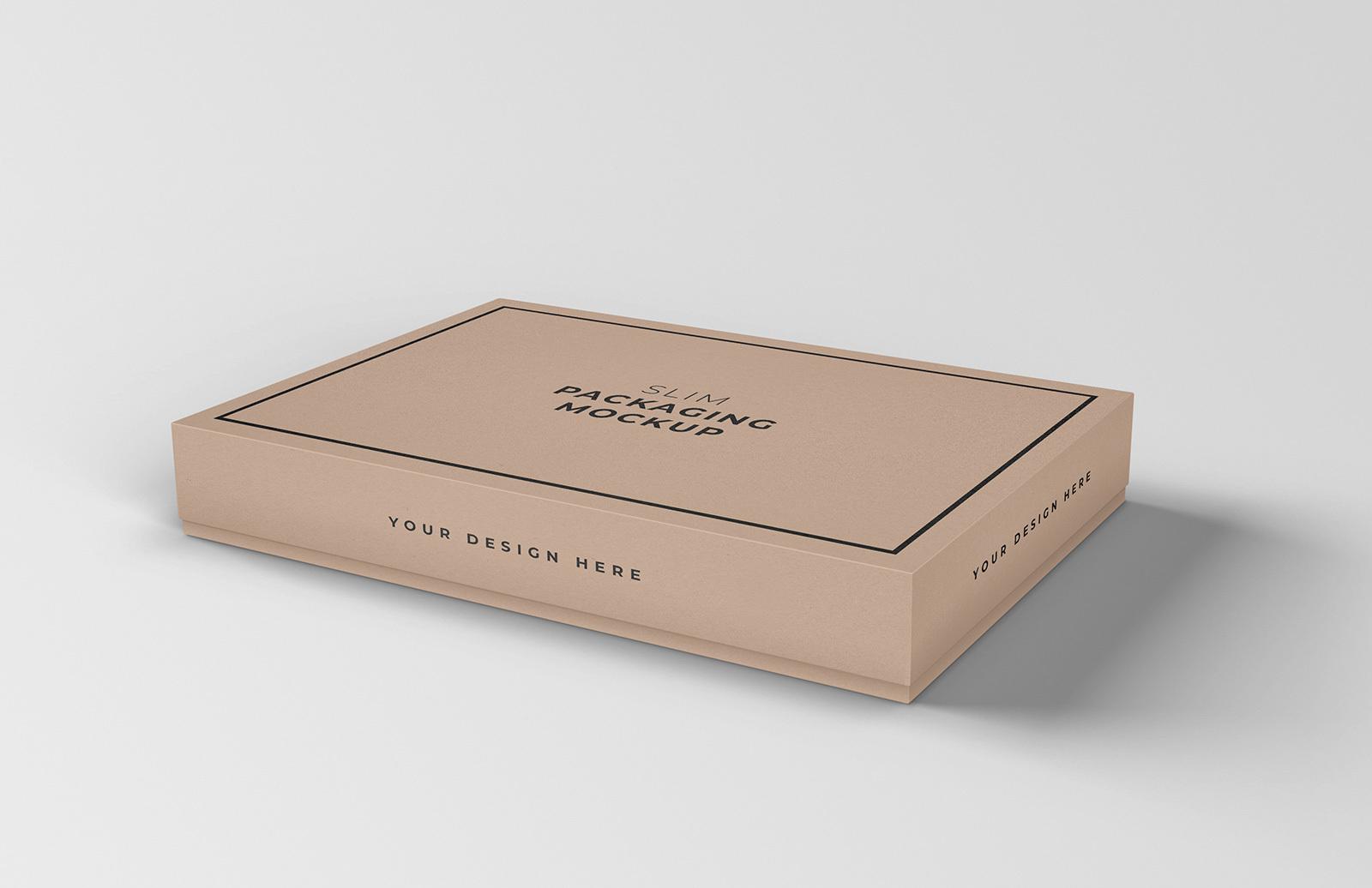 Slim Packaging Mockup Preview 1