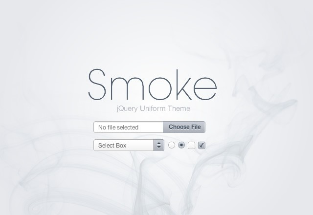 Smoke: jQuery Form Elements