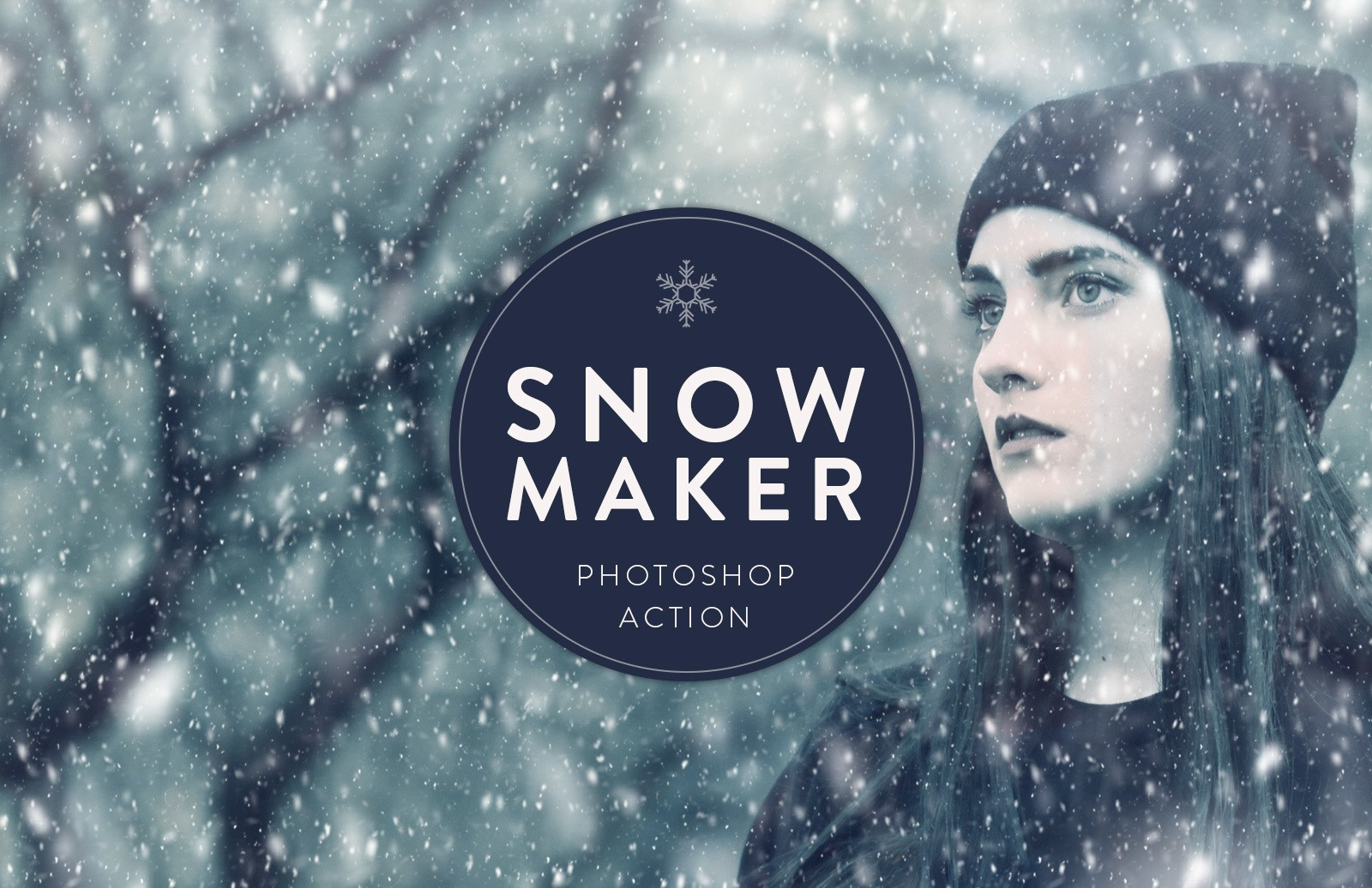 Snow Maker Photoshop Action Preview 1