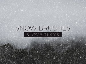 Snow Brushes & Overlays 1