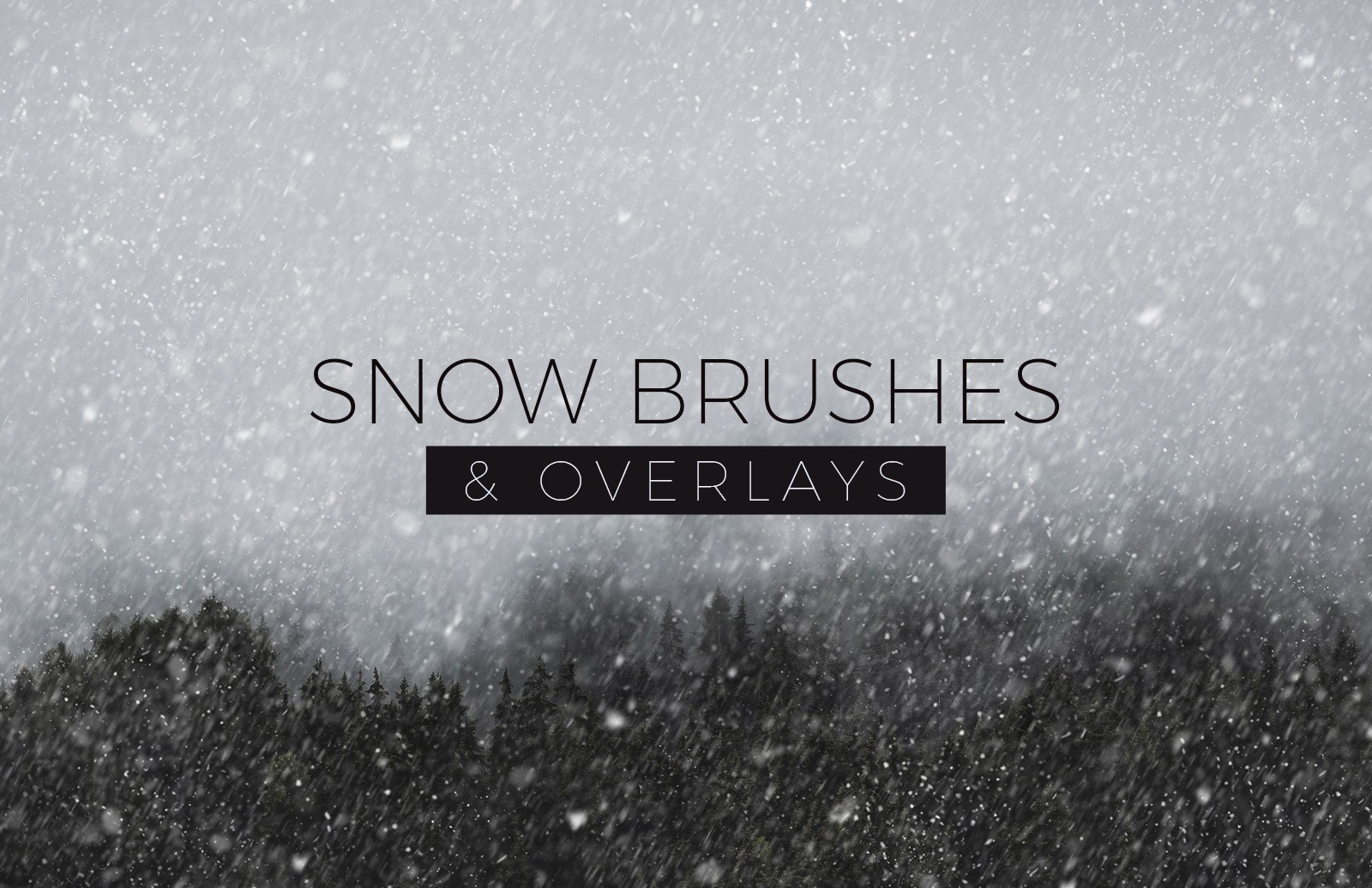 Snow Brushes And Overlays Preview 1