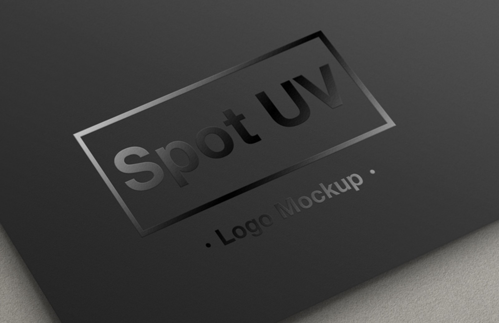 Spot  Uv  Logo  Mockup  Preview 1