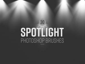 Spotlight Photoshop Brushes 1