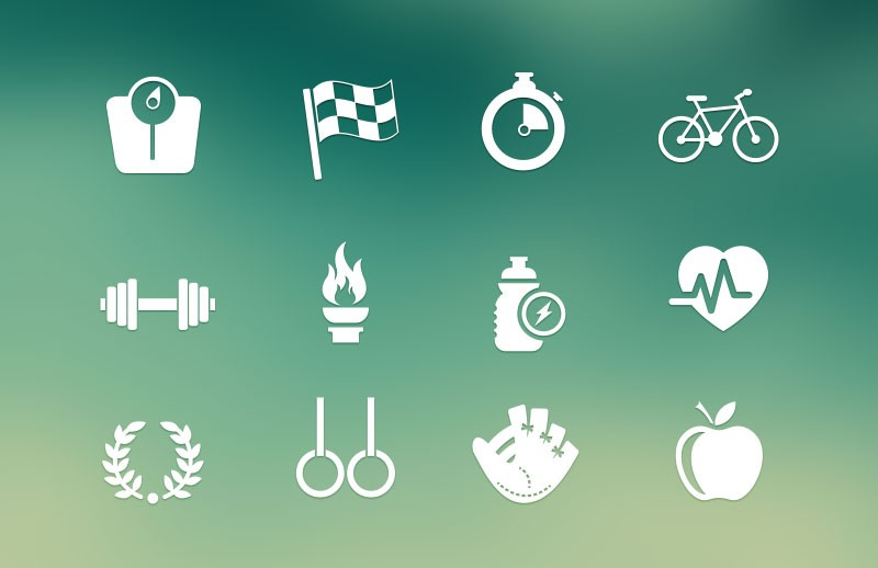 Sport & Fitness Vector Icons