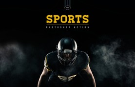 Sports Photoshop Action