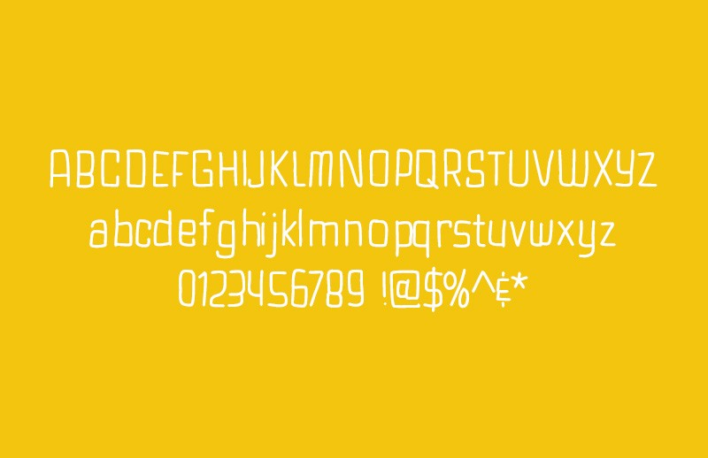 Spaceman  Hand  Drawn  Font  Preview 2