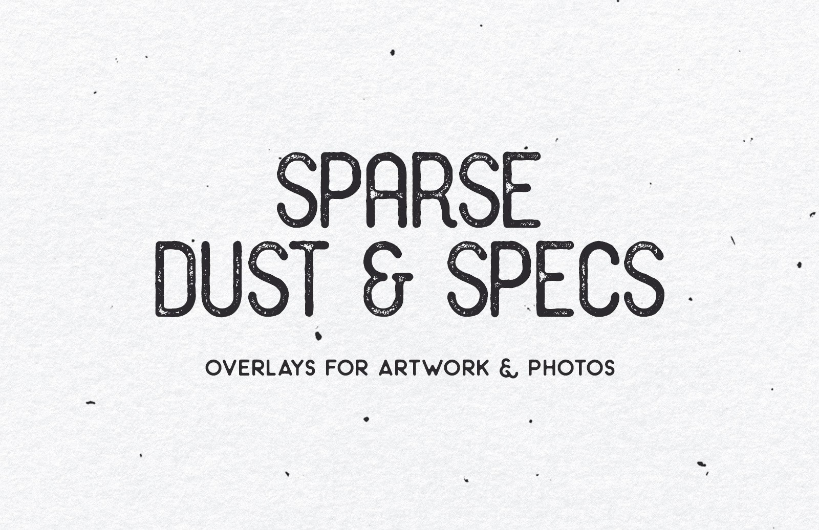 Sparse Dust Specs Preview 1
