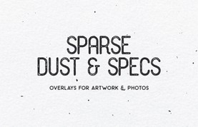 Sparse Dust & Specs - Brushes & Textures