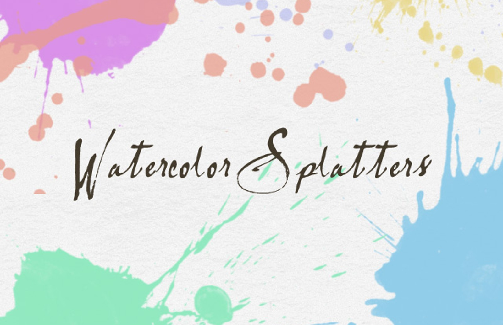 Splatter  Brushes  Preview1