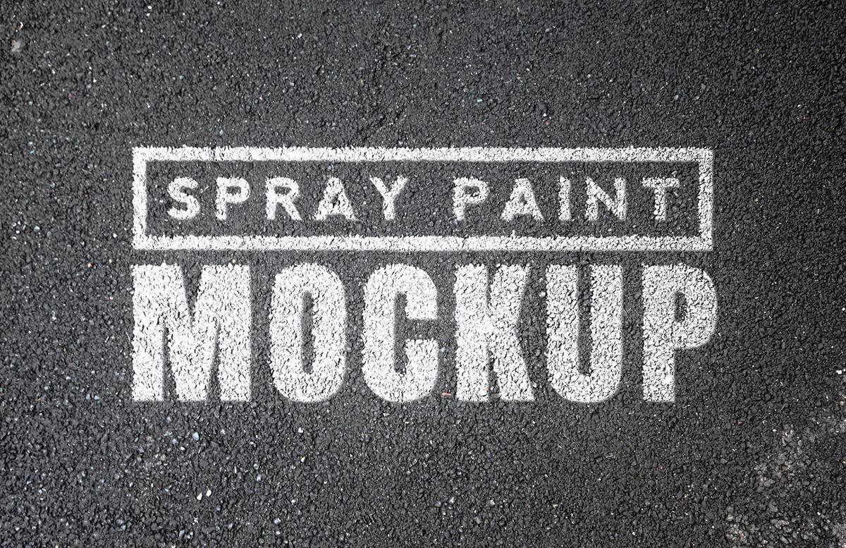 Spray  Paint  Mockups    Vol 1  Preview 1