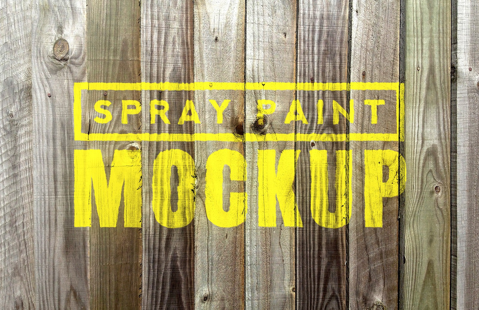 Spray Paint Mockups - Vol 2