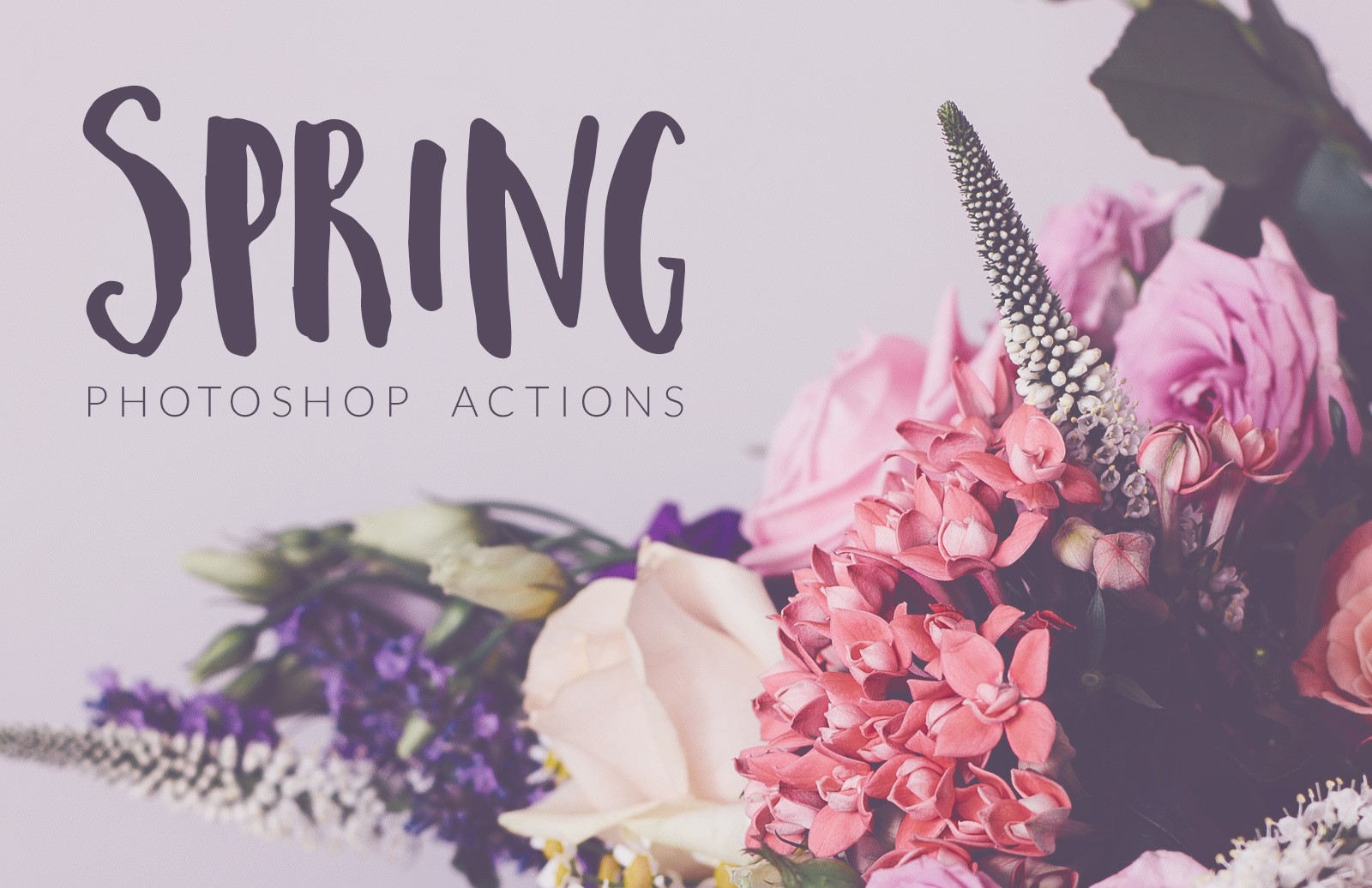 Spring Photoshop Actions
