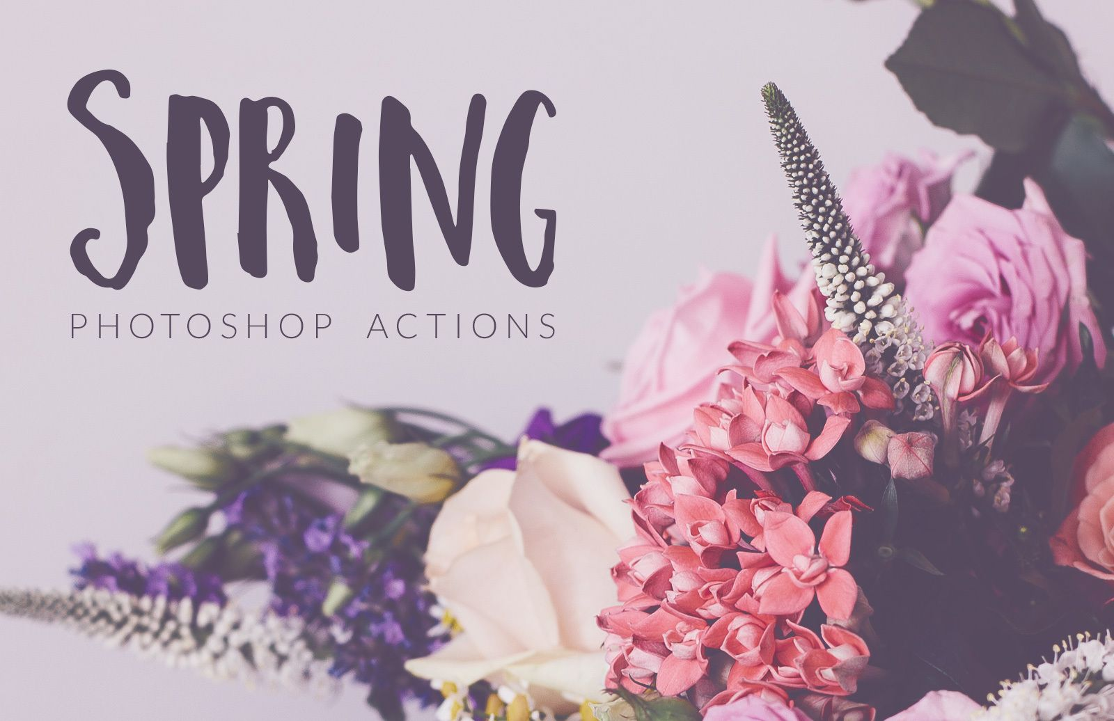 Spring Photoshop Actions Preview 1