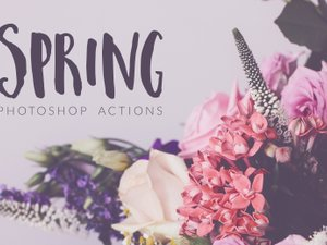 Spring Photoshop Actions 1