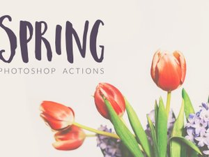Spring Photoshop Actions 2