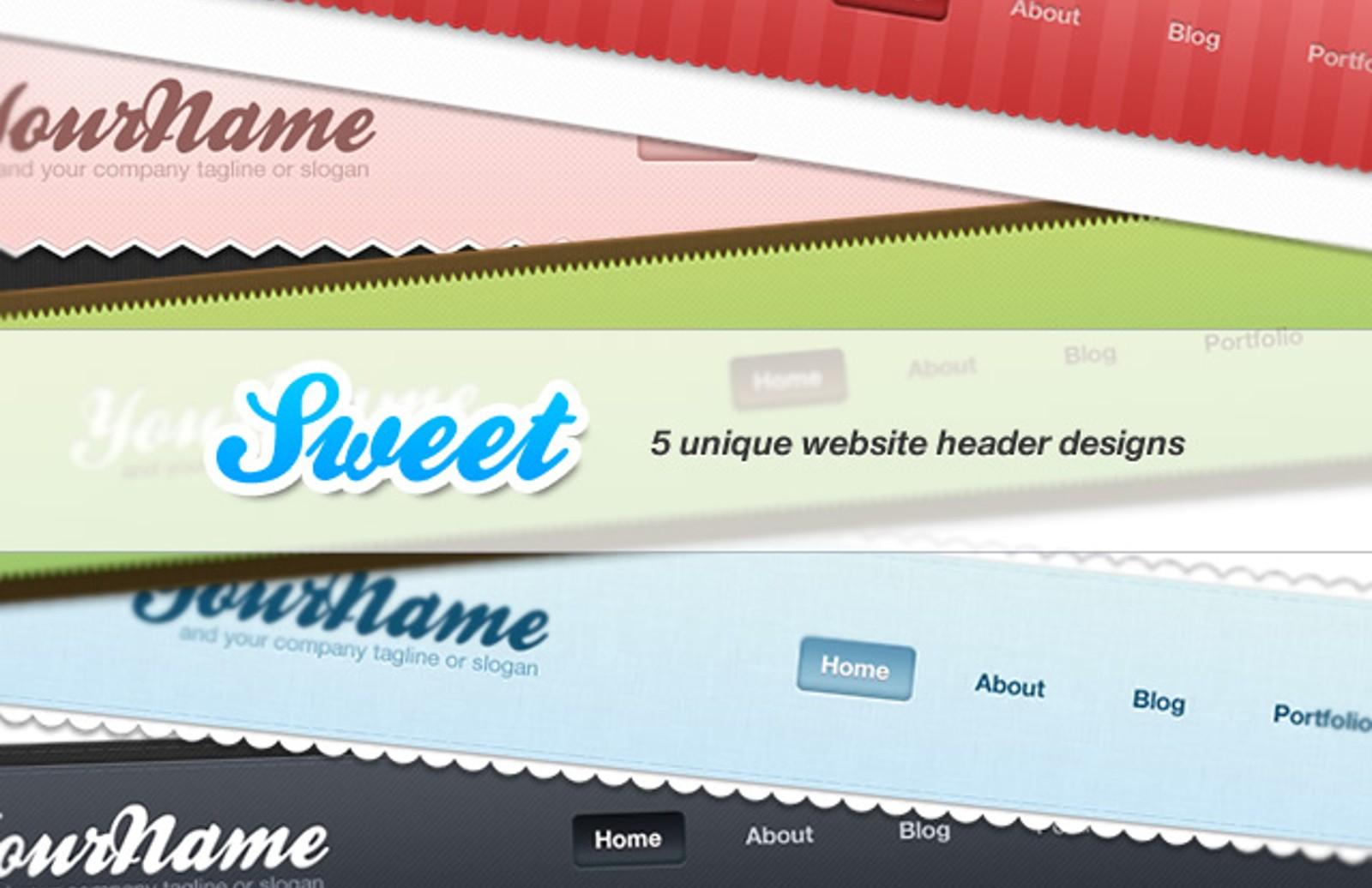 Sweet  Website  Headers  Preview1
