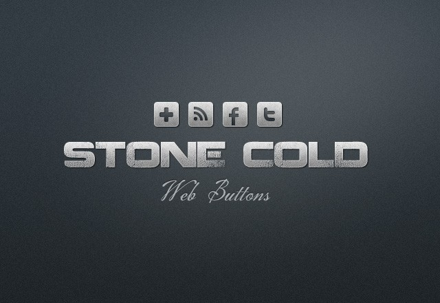 Stone Cold Web Buttons