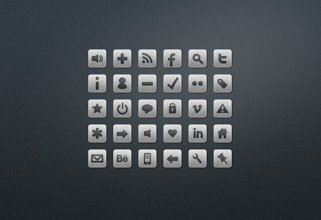 Stone  Cold  Web  Icons  Preview2