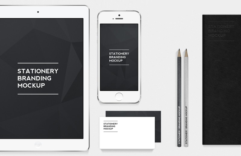 Large Stationery  Branding  Mockup 800X518 3
