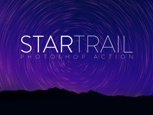 Star Trail Photoshop Action 1