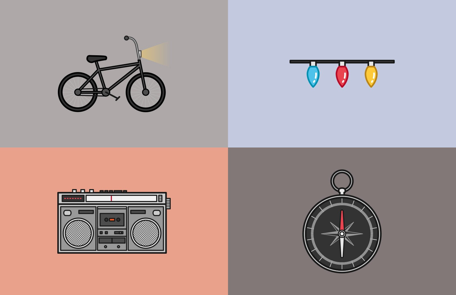 Stranger  Things  Adventure  Icons  Preview 2