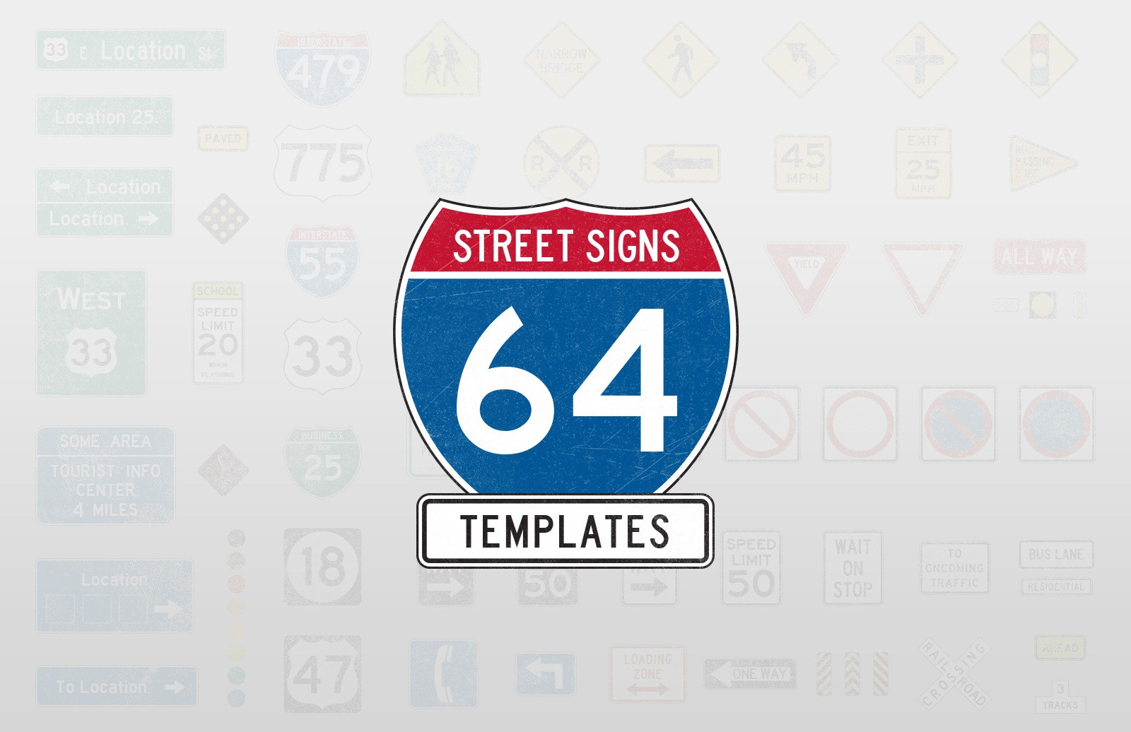 Street Signs Templates Preview 1