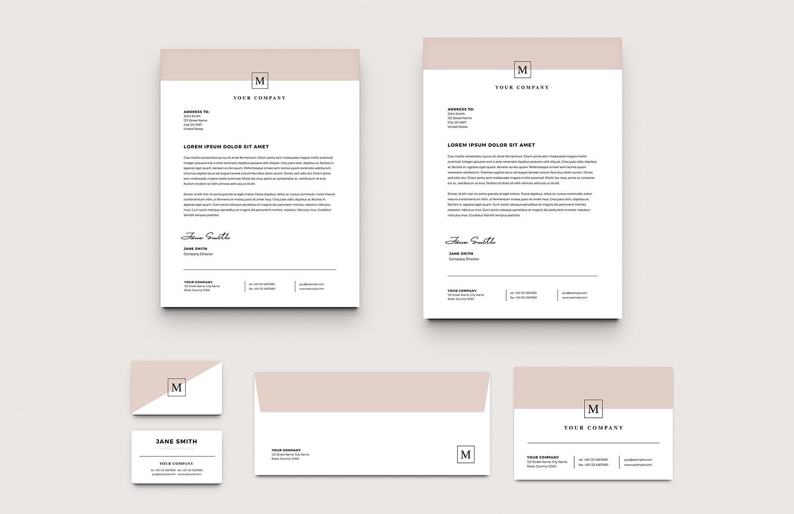 Stylish Business Stationery Layouts