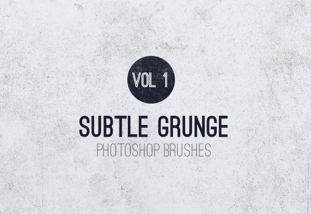 Subtle  Grunge  Brushes  Vol 1  Preview1