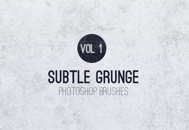 Large Subtle  Grunge  Brushes  Vol 1  Preview1