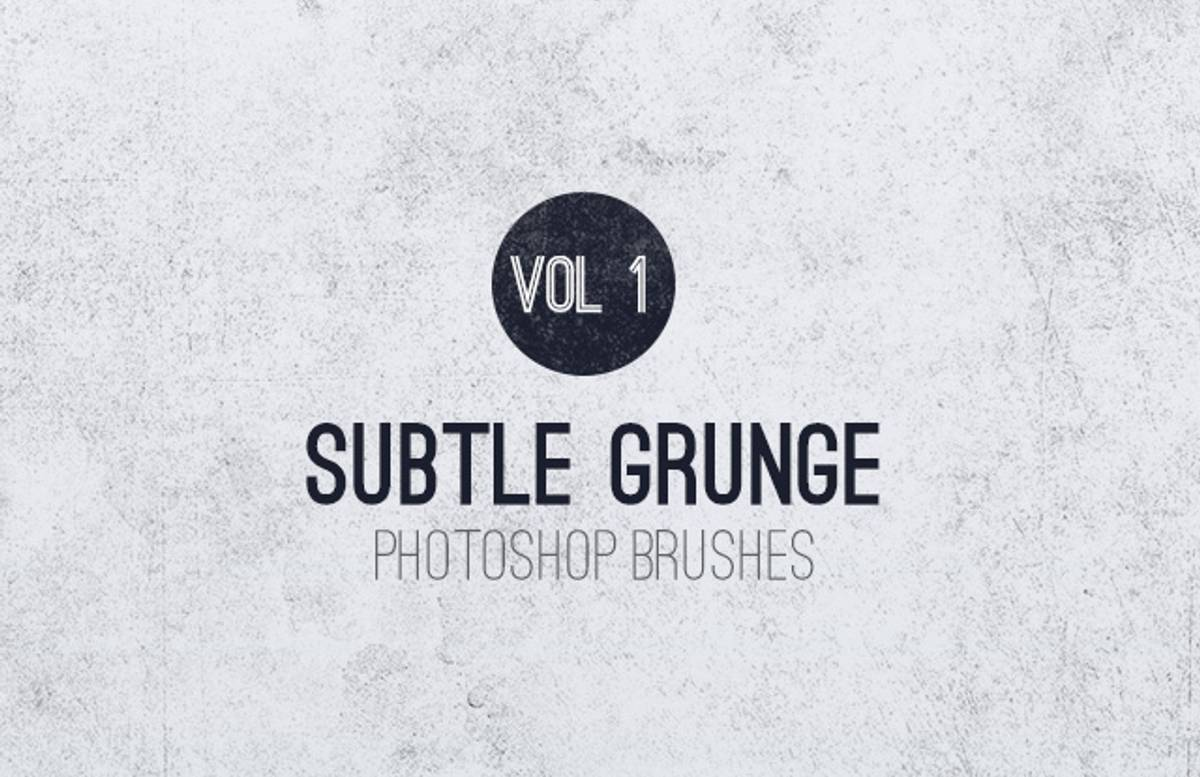 Subtle  Grunge  Brushes  Vol 1  Preview1