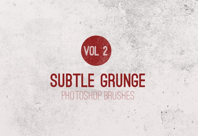 Subtle Grunge Brushes - Vol 2