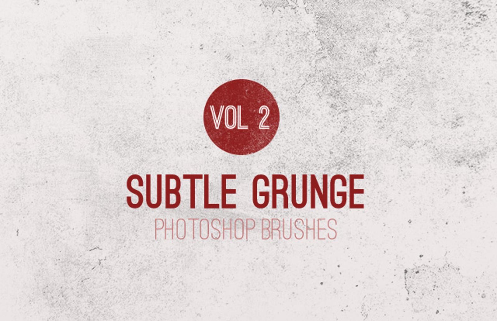 Subtle  Grunge  Brushes  Vol 2  Preview1