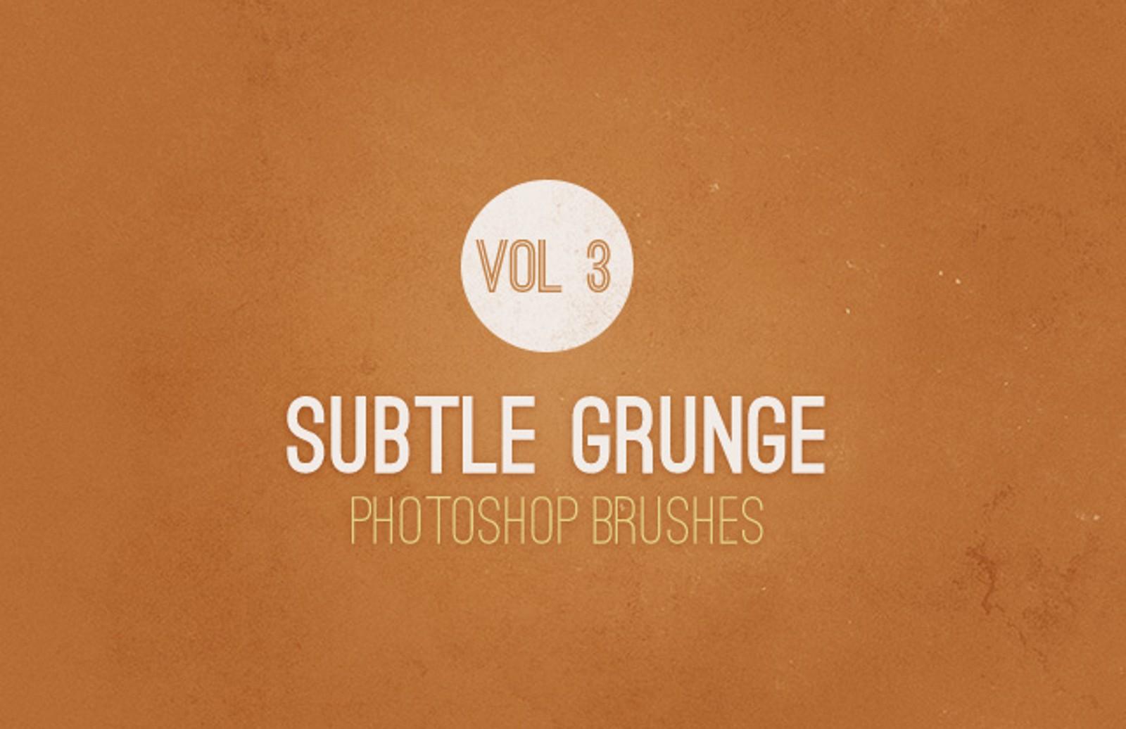 Subtle  Grunge  Brushes  Vol 3  Preview1