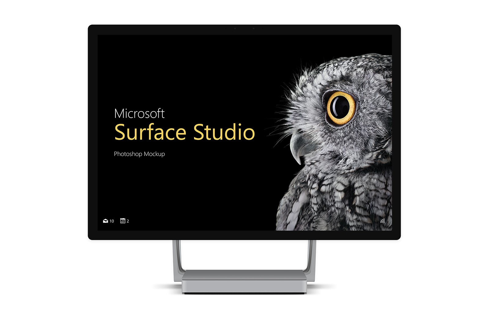 Surface Studio Mockup (PSD)